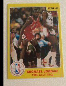 **REPRINT** 1986 Star Court Kings Michael Jordan #18 Rookie NR MINT