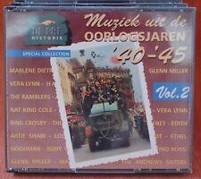 DE PREHISTORIE - HET BESTE OORLOGSJAREN 40-45- VOL.2 -- ***  2 CD - BIG BOX ***