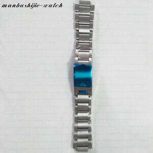 22mm Full stainless steel Wrist Watch Straps Bracelet for 41mm Men Corgeut watch