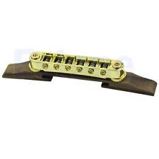 Archtop Jazz Guitar Xylophone Parts Bridge Gold Roller Saddles Adjustable Hot
