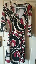 Womens casual V neck multi wrap round style tunic by soprano XL