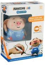 Educational Creative Pen Inductive Toy Pig Automatic Charging Road Marking Toy