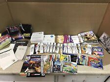 Mixed Lot Of Nintendo Game Manuals