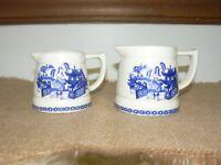 Vintage Blue & White Creamer Set
