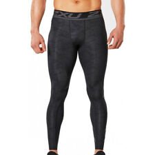 NEW 2XU MENS ACCELERATE PRINT COMPRESSION TIGHTS - ALL SIZES - SAVE 50%