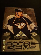 2008/09 UD Black Diamond # 160 Triple Diamond Patric Hornqvist RC!