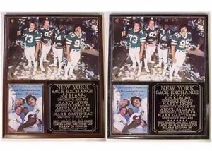 New York Sack Exchange New York Jets Legends Photo Plaque Joe Klecko