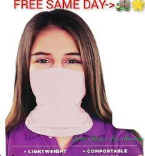Copper Fit Protector facial Braga de cuello Pink Youth 8+ Face Cover(FREE 🚚⚡🌟)