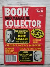 Book & Magazine Collector #87 Rider Haggard Childrens Books of the Forties etc