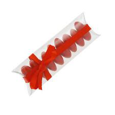 SET 10 SCATOLA TUBO PVC BOMBONIERA 10x4 BATTESIMO MATRIMONIO CRESIMA COMUNIONE