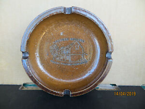 Vintage Hand Made Bendigo Pottery RD Epsom Stables AshTray...