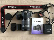 Canon EOS 60D Digital SLR Camera With Bag 32g SD Card And Accessories Exc Cond
