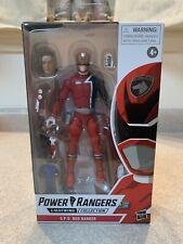 Hasbro Power Rangers Lightning Collection Spd Red Ranger