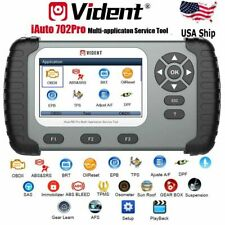 USA OBD2 Diagnostic Scanner Tool  for ABS SRS DPF EPB TPMS IMMO iAuto 702Pro