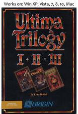 Ultima Trilogy 1989 PC Mac Game