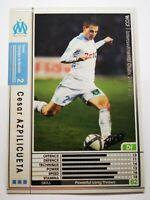Panini 2010-11 WCCF IC carte card soccer Marseille OM 098/352 Cesar Azpilicueta