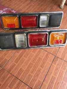 MAZDA 808 818 RX3 TAIL LIGHTS Rear Lamp LH+RH Genuine NOS JAPAN