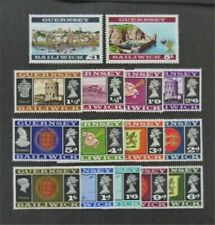 nystamps Great Britain Guernsey Stamp # 8//23a Mint OG H $25