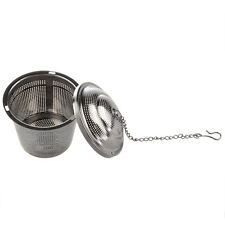 Practical Tea Ball Strainer Mesh Infuser Filter Stainless Steel New