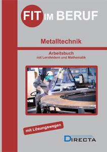 Fit im Beruf Metalltechnik Directa Buch NEU