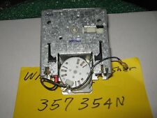 WHIRLPOOL/KENMORE WASHER TIMER 357354N 90 DAYS WARRANTY. FREE SHIPPING.