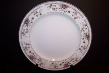 Fine Porcelain China Japan in the Claremont Pattern Set of 4 Dinner Plates