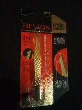 Revlon 2in 1 Slant And Point Tip Gold Tweezers