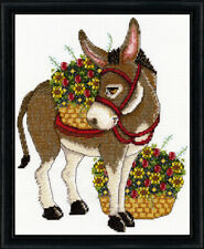 Design Works Counted Cross Stitch Kit- Donkey - #3373