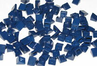 Lego Lot of 100 New Dark Blue Slope 30 1 x 1 x 2/3 Pieces