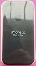 Apple iPhone 5 5s/SE Silicon Case Great Handling Original Cover Black Charcoal