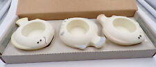 PARTYLITE ~ P7144 ~ AQUA PALS ~ 3 FLOATING TEALIGHT HOLDERS ~ NEW IN BOX