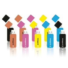 New Integral 16GB Neon USB Flash Drives 10 Pack Memory Stick Pen Thumb New Uk