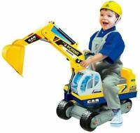 COLOR TREE Ride on Excavator Pretend Play Toy Truck Kids Christmas Gift Digger