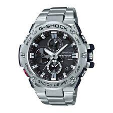 -NEW- Casio G-Shock G-Steel Bluetooth Solar Powered Watch GSTB100D-1A