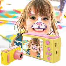 "Kids Digital HD Camera Video Recorder 2""Display +SD Card Waterproof For Children"