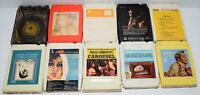 Lot of 10 Various Vintage 8-Track Tapes Some Rare As Shown In Pictures - Lot # 5