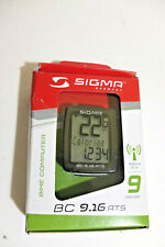 Sigma Sport Bicycle Computer BC 9.16 ATS, 9 Functions, Maximum Speed, wireless