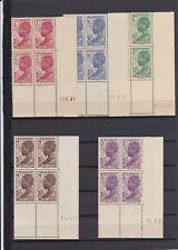 FRANCE AOF COTE D'IVOIRE 109/12 + 151 BLOC DE 4 TIMBRES  COIN DATE1938ET39 NSC