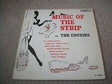 THE COUSINS---MUSIC OF THE STRIP---VINYL ALBUM