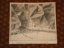 Cartina dell'Aglomerato Urbano di Pietra Ligure