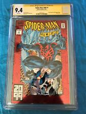 Spider-Man 2099 #1 - Marvel - CGC SS 9.4 NM - Signed by Peter David