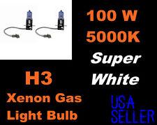 100w Super White Dodge 94-04 Viper/ 93-94 Colt Fog Light H3 Xenon Bulbs-New