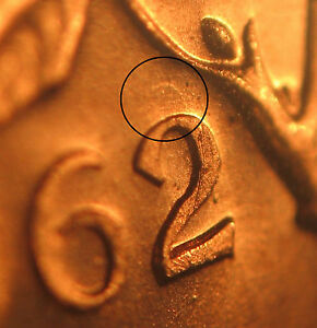 CANADA 1 cent 1962 with a light DIE CLASH + a DOT on date -MS