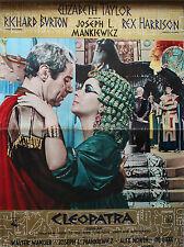 """CLEOPATRA"" ORIGINAL ITALIAN ""PBUSTA"" ELIZABETH TAYLOR MOVIE POSTER"