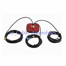 Multi-band antenna GPS+WiFi+GSM antenna SMA plug male Series connector
