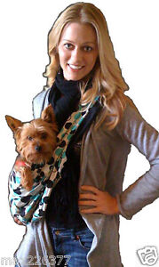 NEW LittleRubi pet dog carrier sling bag 15 colors 2 sided lined reversible S-XL