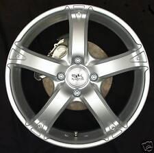 "BK333 17"" Silver Alloy Wheels Ford Focus 4x108 x4 17"" Mondeo Fiesta Ka"