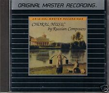 USSR TV & Radio Large Chorus Choral Music by Russian Composers MFSL Silver CD