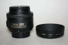 Nikon 35mm f1.8 G DX AF-S NIKKOR - FOR NIKON DIGITAL CAMERAS,  Superb!!!!