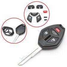 For Mitsubishi Galant Eclipse Lancer Evo 4 Buttons Remote Key Shell Fob (Fits: Mitsubishi Eclipse)